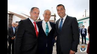 Presidentes das Câmaras municipais da Calheta e das Velas satisfeitos com a visita do Presidente da