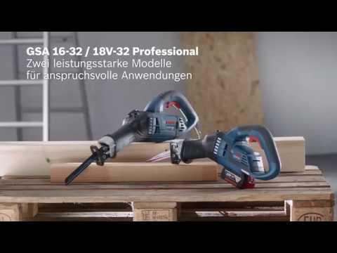 Bosch Säbelsägen GSA 16-32 und  GSA 18V-32 Professional