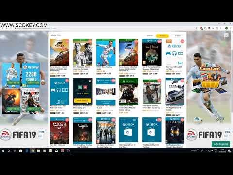 SCDKey | Buy FIFA 19 On PS4 Or XBOX For CHEAP! + Cheap PSN Codes + Xbox Codes!