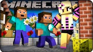 Minecraft Mods - GIRLFRIEND CHALLENGE! ( Orespawn Mod / Lucky Block Mod)