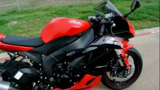 3. Overview and Review: 2012 ZX6R Ninja Passion Red Metallic Spark Black
