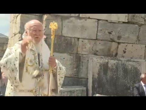 Στη Βασιλική του Αγίου Ιωάννου στην Έφεσο λειτούργησε ο Βαρθολομαίος…