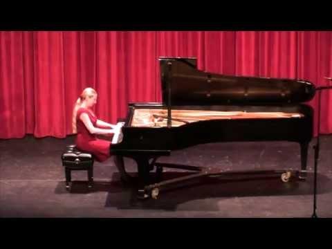 Natalya Shkoda Piano Recital 10-18 -15