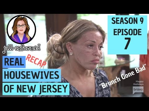 "Real Housewives of New Jersey (Recap) Season 9 Episode 7 ""Brunch Gone Bad"" (2018)"