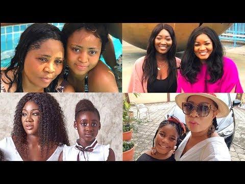 10 Nigerian Celebrities With Their Look Alike Daughters