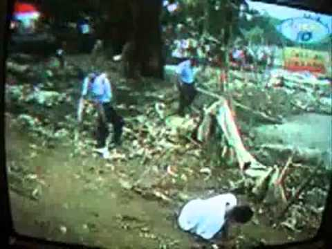 Policia de Nicaragua Mata a Delincuente