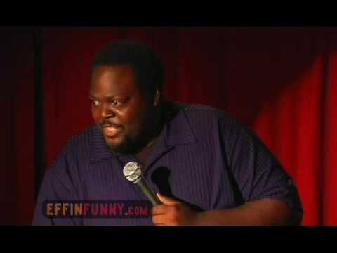 Saleem Muhammed Effinfunny Stand Up - Black Man President