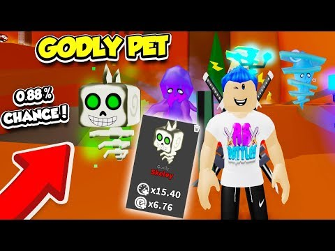 I OPENED THE NEW GODLY PET IN THE GHOST SIMULATOR DINOSAUR EVENT UPDATE!! (Roblox)