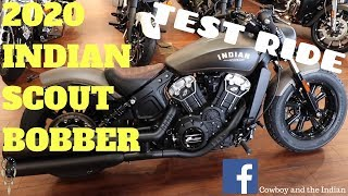 1. 2020 Indian Scout Bobber Test Ride
