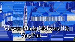 Trojan.Win32.VeryFun (Viewer-Made Malware 18)