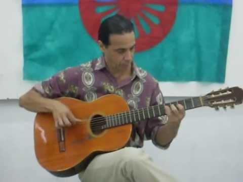 paulo lopez roberto flamenco arabe recital na casa de cultura em esteio.