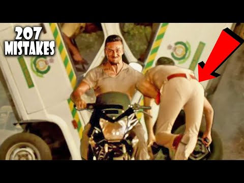 (207 Mistakes) In Baaghi 2 - Plenty Mistakes In Baaghi 2 Full Hindi Movie - Tiger Shroff