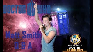 Renegade Geek - Convention Junkies Going through old footage before I launched RG, I saw Matt Smith at Wizard World Austin.