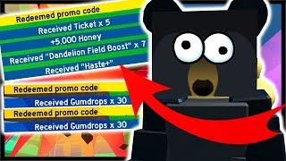 3x *NEW* CODES, FREE TICKETS AND 60x FREE GUMDROPS! | Roblox Bee Swarm Simulator
