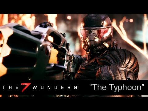 New 7 Wonders of Crysis 3 Video Shows Off the Typhoon Weapon