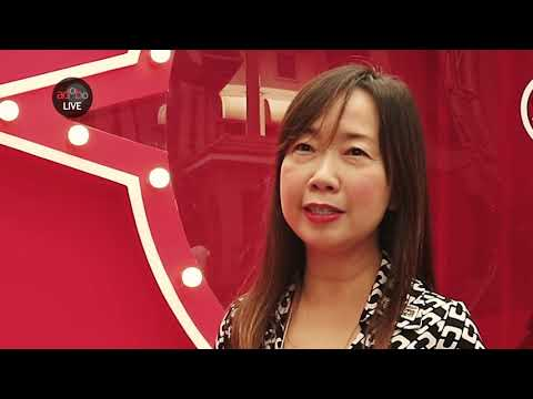 AdoboLIVE! Lynette Pang, Singapore Tourism Board Asst  Chief Executive