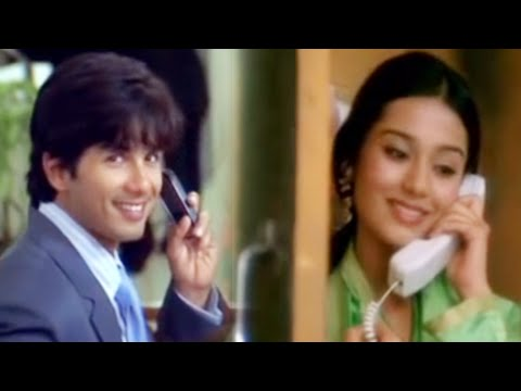 Video Love On The Telephone - Shahid Kapoor & Amrita Rao - Vivah download in MP3, 3GP, MP4, WEBM, AVI, FLV January 2017