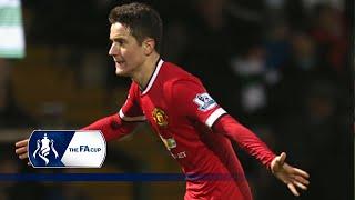 Herrera wonder goal - Yeovil 0-2 Man Utd   Goals & Highlights