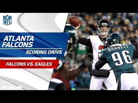 Ajayi Fumbles & Atlanta Draws 1st Blood on Scoring Drive!   Falcons vs. Eagles   NFL Divisional HLs