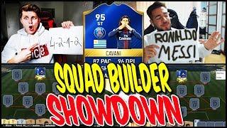 95 TOTS CAVANI SQUAD BUILDER SHOWDOWN!! ⚽⛔️😝 - FIFA 17 ULTIMATE TEAM (DEUTSCH) Mp3