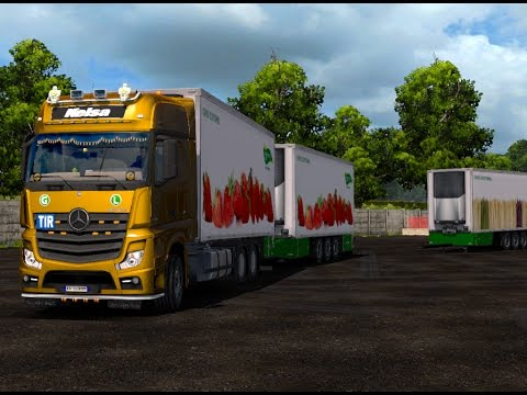 MERCEDES ACTROS MP4 V1.16 1.25