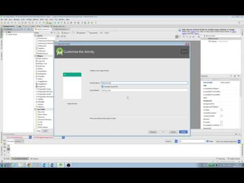 Android developer Building Your First App Creating an Android Project version 2016