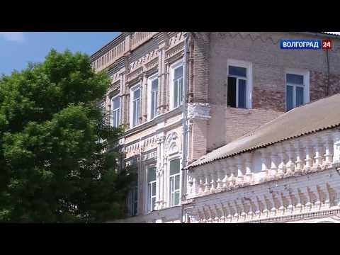 Здание училища 19 века в Дубовке. Выпуск от 07.06.2017