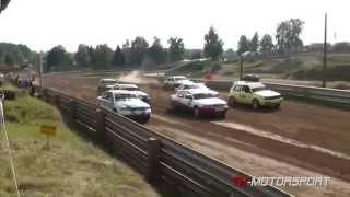 Autocross Mölln September 2014 Klasse 6 / 1.Vorlauf