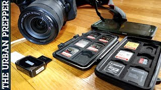 "Official Urban Prepper video for SD Card Data Backup (On-The-Go Filming) Subscribe: http://goo.gl/eQcPiV Watch next, ""Urban ..."