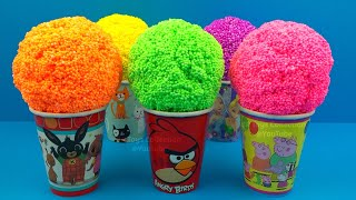 Video Play Foam in Ice Cream Cups Surprise Eggs Cabbage Patch Kids Little Sprouts Surprise Toys MP3, 3GP, MP4, WEBM, AVI, FLV Desember 2018
