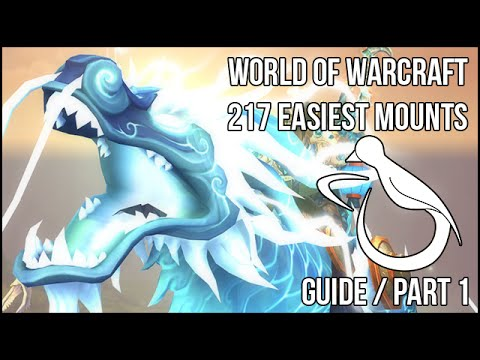 The 217 Easiest Mounts (Guide) - Part 1 - Dungeon Glory (видео)