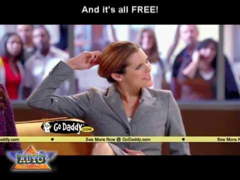 2010 Super Bowl TV Ads: Danica Patrick GoDaddy.com NEWS spot