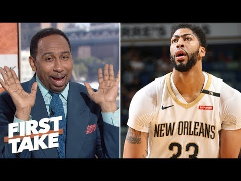 Klay Thompson would be a better fit for the Lakers than Anthony Davis - Stephen A. | First Take