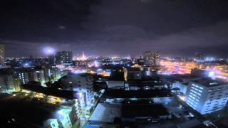 Lightning Time Lapse Bangkok