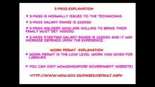 Complete Details on Singapore Visa Types..Plz Like the Video and Subscribe our channel for all regular updates...