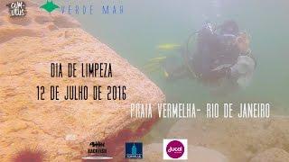 MEIO AMBIENTE: Dia de Limpeza na Praia Vermelha dia 16 de Julho - Dive Against Debris