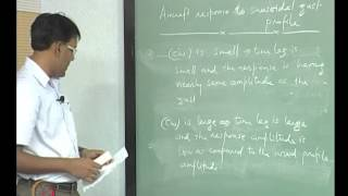 Mod-12 Lec-39 Wind Profiles, Longitudinal Mode Response To Wind Shear