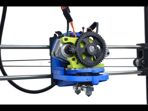 LulzBot FlexyDually – Flexible Dual Extruder for 3D Printer