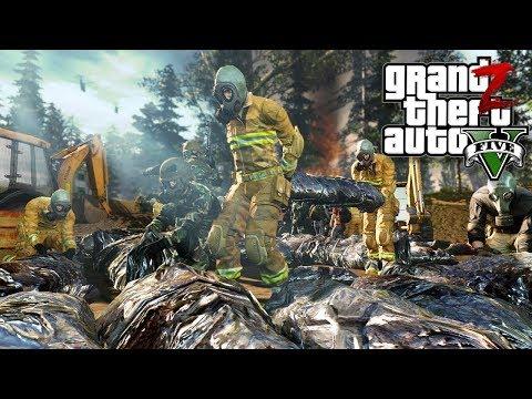 GTA 5 Зомби Апокалипсис - УНИЧТОЖЕННАЯ ВОЕННАЯ БАЗА В ГТА 5 МОДЫ 33! GTA 5 ОБЗОР МОДА (видео)