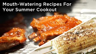 Mouth-watering recipes perfect for your summer cookout!___RECIPES HERE: http://bit.ly/2scRp3BKin Community is a participant in the Amazon Services LLC Associates Program, an affiliate advertising program designed to provide a means for sites to earn advertising fees by advertising and linking to amazon.com. Help support Kin Community by shopping these products with no additional fee!___CONNECT WITH KIN COMMUNITYSubscribe here: http://bit.ly/MKYoureInvitedFacebook: https://www.facebook.com/KinCommunityPinterest: https://www.pinterest.com/kincommunityTwitter: https://twitter.com/kincommunityInstagram: https://instagram.com/kincommunitySnapchat: http://bit.ly/AddKinYour source for new skills, new stuff, and new perspectives related to the most important place in the world, Home. Make your way home with Kin Community.