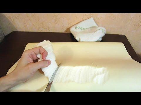 Посылка из Китая. Ортопедическая подушка с эффектом памяти +