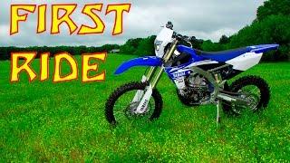 1. 2017 WR450F - First Ride