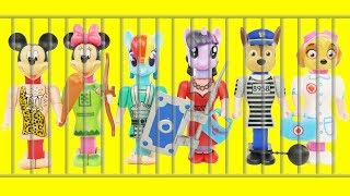 Video Paw Patrol Microwave PEZ CANDY DISPENSERS Jail Rescue Game Body Parts, Wrong Heads, Learning Colors MP3, 3GP, MP4, WEBM, AVI, FLV Juli 2017