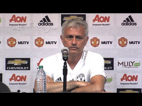 Jose Mourinho Press Conference Ahead Of LA Galaxy Match - Manchester United Tour 2017 (видео)