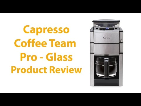Capresso CoffeeTeam Pro 12-Cup Coffee Maker Review