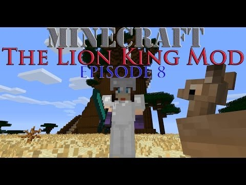 Minecraft 1.6.4 - The Lion King Mod - Episode 8 - Scar!