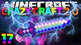 """Minecraft Mods Crazy Craft 2.0 """"The Ultimate Sword"""" Modded Survival #17 w/Lachlan"""