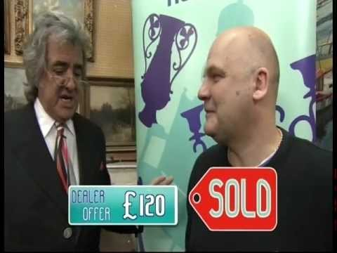 flog - John Hampson on ITV Dickenson's Real Deal and BBC1 Flog it! 2013 with antiques dealers Michael Hogben, David Dickenson, Will Axon and Paul Martin. Auctions f...