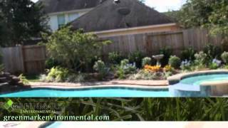 image of Greenmark Environmentals Sugar Land Landscaping work