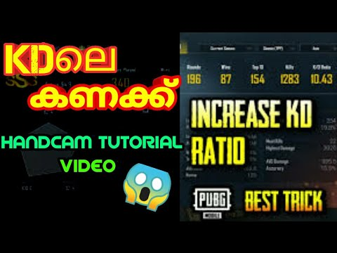 INCREASE KD RATIO EASILY | CALCULATION OF KD HANDCAM TUTORIAL VIDEO | PUBG MOBILE | ANDROGAMER AGM